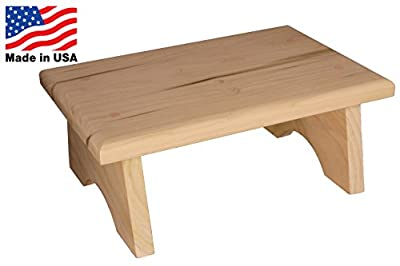 AceHome Small Wooden Step Stool
