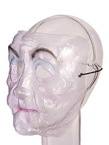 (FORUM NOVELTIES MASK - TRANSPARENT OLD LADY)