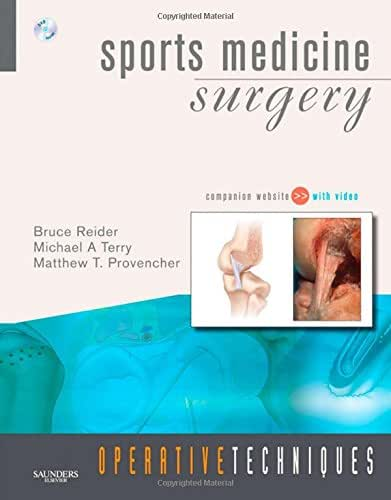 Operative Techniques: Sports Medicine Surgery: Book, Website and DVD