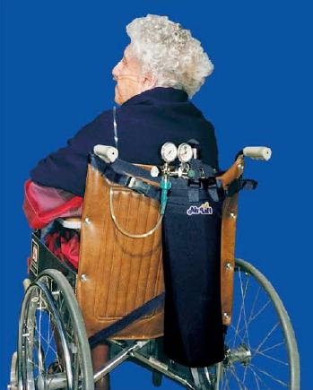 Air Lift Model No 44N D or E Wheelchair-Scooter Carrier - Navy by USA