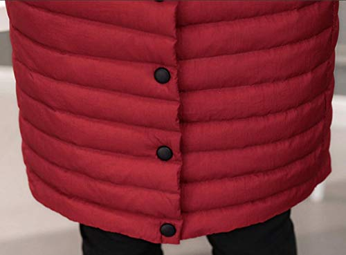 Thick Down Lightweight Long Jacket Women's Red Outdoor Winter EKU Coat wnHP0Yqq