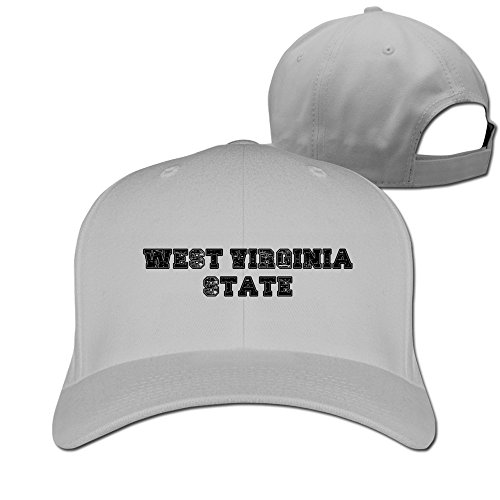 Usa State of West Virginia Logo Adjustable Cap Baseball Hat ()
