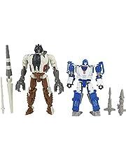 Transformers Generations Kingdom Battle Across Time Collection Deluxe WFC-K40 Autobot Mirage & Max Grimlock, från 8 år, 14 cm lång