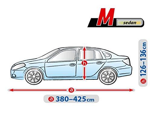 Autoplane ATMI M Sedan atmungsaktiv kompatibel mit Peugeot 207 CC I autoschutz Abdeckung
