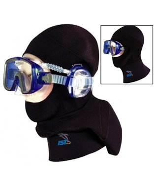 IST 5mm Pro Ear Scuba Diving Hood Specifically Designed for use with IST Pro Ear Mask (Large) ()