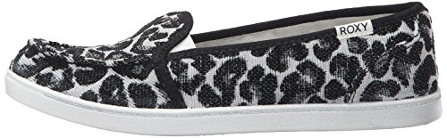 Roxy Women's Lido Iii Slip-on Shoes Flat, Black/Black/Dark Grey, 7 M US by Roxy (Image #5)