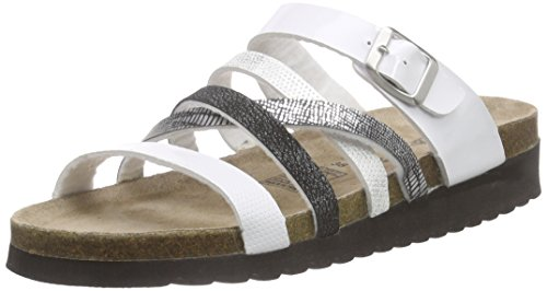 Softwaves 274 244, Women's Mules Multicolour - Mehrfarbig (White Multi 199)