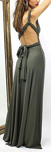 Light Deep Green Multiple Maxi V Dress Short Sleeve Womens Neck Jaycargogo Style 5qwPavZ