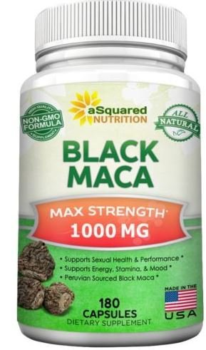 Amazon com: Max Strength Organic Pure Black Maca Root
