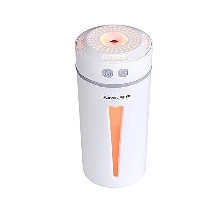 Mini Air Aromatherapy Essential Oil Purifier Ultrasonic Humidifier Car Diffuser
