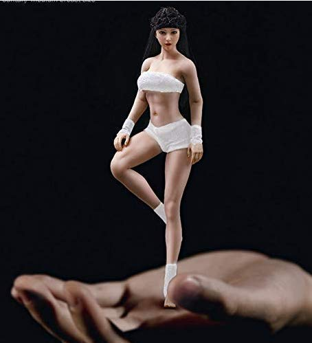 TBleague Phicen Super Flexible Female Seamless Body for 1/12th Scale Action Collectible Figure 22 Points of Artivulation with Stainless Steel Skeleton BLMB2018-T01B/T01A Sexy Figurine Gifts for Boys