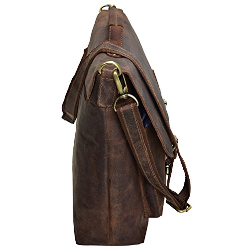 HOLIDAY DEALS SALE TONY'S BAGS - 15 inch Laptop bag - College Bag, Office Bag, Business Bag Briefcase in Vintage Style by Tony bags (Image #2)