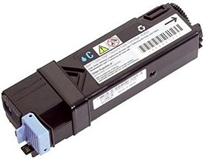 Dell Toner Cartridge for Dell 1320c/ 2135cn/ 2130cn Color Laser Printer, Yellow, 1000 pages