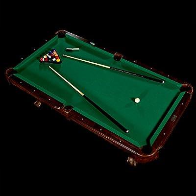 Barrington Billiards Traditional Ball and Claw Leg Billiard Table, 7.5'
