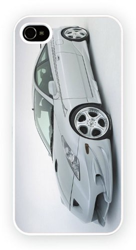 Toyota Celica GTS Silver Custom, iPhone 5 5S, Etui de téléphone mobile - encre brillant impression