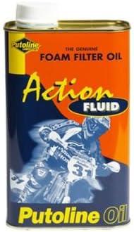 Aceite de filtro de espuma Putoline Action Fluid, 1 litro: Amazon ...