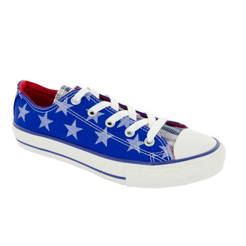 Converse - Zapatillas para niña azul azul