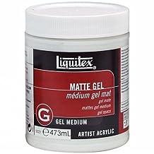 Liquitex Matte Acrylic Gel Medium-16oz by Reeves