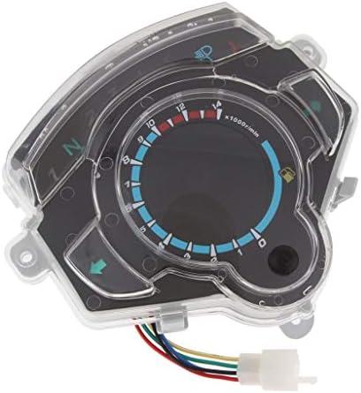 オートバイ原付カラフルなLED電池残量ガス計スピードメータータコメーターオドメーター YHWJP