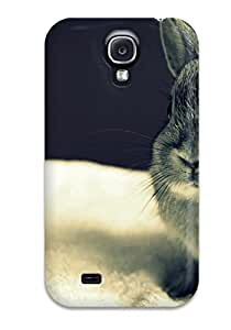 Cute Tpu Matt C Brown Rabbit Case Cover For Galaxy S4