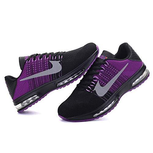 Lightweight Uomo Scarpe Basket Passeggiate On All'aperto Sneakers Slip Ginnastica Traspiranti Da Purple Fitness Casual 0dq5Tpx