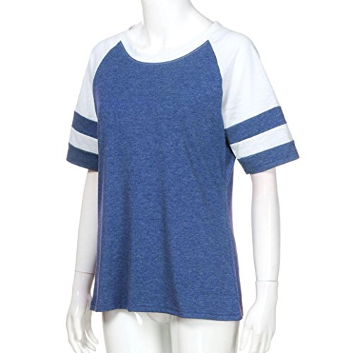 Shirt155 Damen SANFASHION L Ballerine Blau Donna Bekleidung SANFASHION wx1q1fg