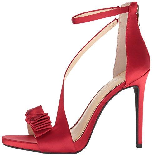 Absatz Sandalen Mousse Red Frauen Mit 0EwST