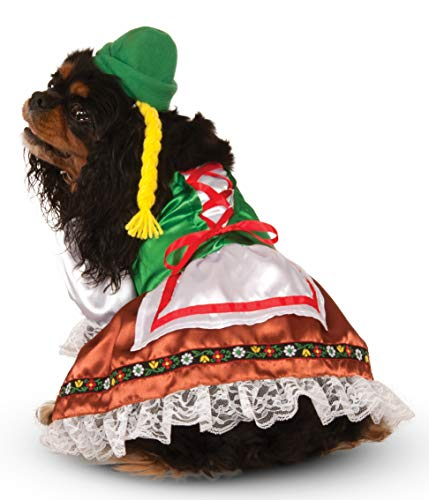 Rubie's Oktoberfest Sweety Pet Suit, X-Large White ()