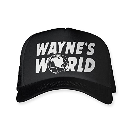 [Wayne's World Trucker Hat Mesh Halloween Costume Cheap Funny SNL] (Halloween Costume World)