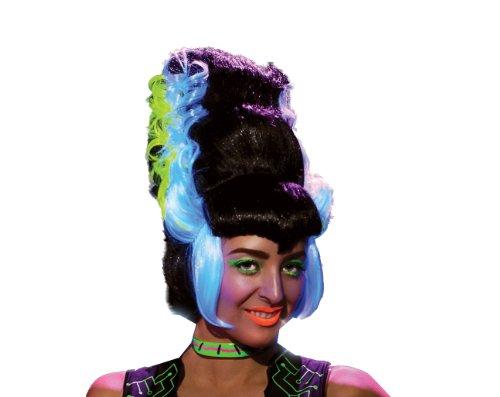 [Rubie's Costume Franken Bride Neon Light Wig, Multi, One Size] (Frankensteins Bride Costume)