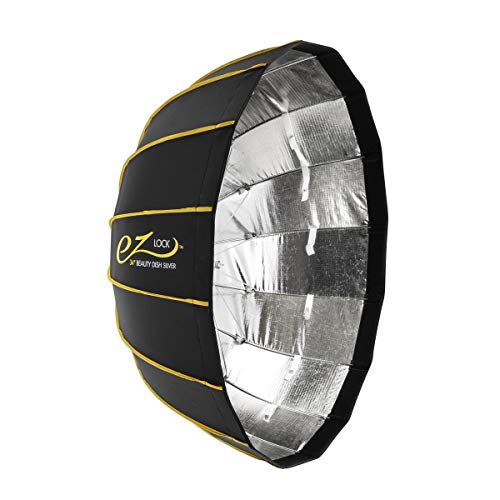 Glow EZ Lock Collapsible Silver Beauty Dish (34