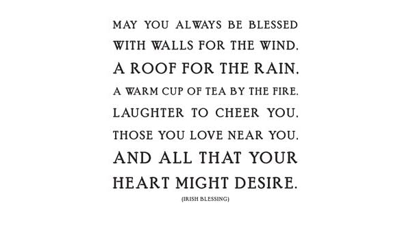 Amazoncom Quotable Irish Blessing May You Always Be Blessed