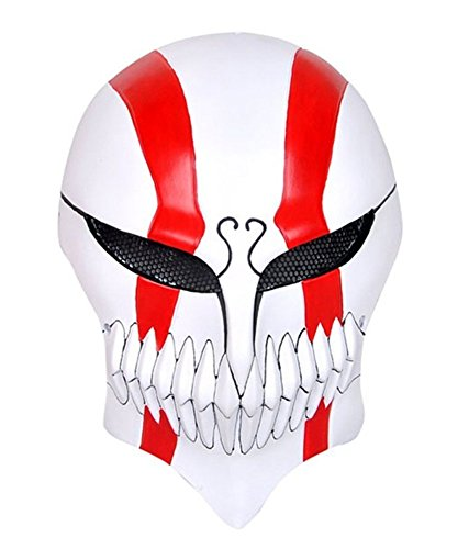 Gmasking Bleach Ichigo Kurosaki Airsoft Full Face Protection Paintball Mask (Bleach Ichigo Full Hollow Mask)
