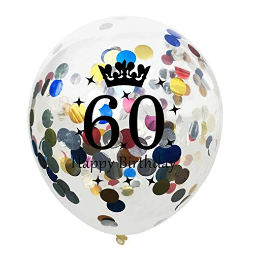 NBPMR 50 40 30 Años Globos Globos De Feliz Cumpleaños Número ...
