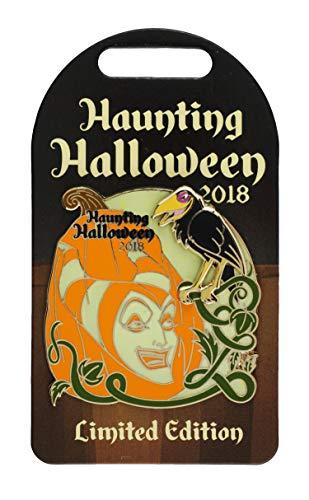 WDW Trading Pin - Haunting Halloween 2018 Maleficent -