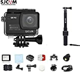 SJCAM SJ8 PRO Kit{SJ8 PRO Camera with Accessories, SJCAM Monopod}4k/60fps Sports Cam with Ambarella H22 Sensor,EIS,170°Wide-Angle 2.33″ Touchscreen,1200mAH Battery for Underwater,Outdoor Activity For Sale