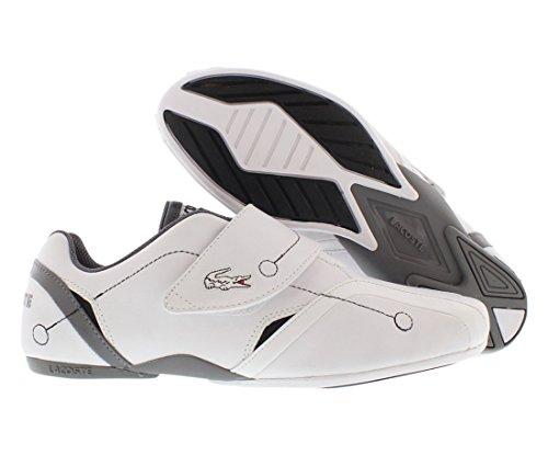 Lacoste Men's Protect M Fashion Sneaker,White/Grey,13 M US