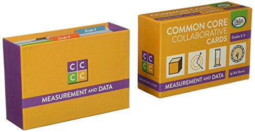 Didax Educational Resources Common Core Collaborative Cards-Measurement and Data