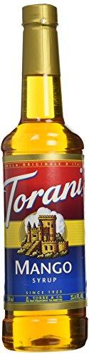 Torani Mango Syrup 750mL (Cruzan Mango Rum)