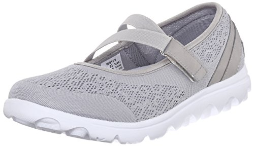 Propet Women's TravelActiv Mary Jane Fashion Sneaker, Silver, 11 W US from Propét
