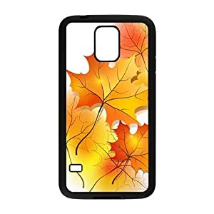 Maple leaf and Autumn Hight Quality Plastic Case for Samsung Galaxy S5