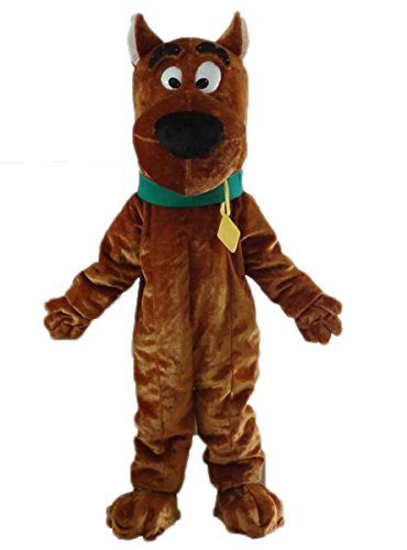 Scooby Doo Cosplay Costume Mascot Costume Cartoon Character Mascot Costumes Birthday Party Custom Made Mascots ()
