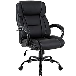 Amazon.com: Big and Tall Office Chair 500lbs Cheap Desk