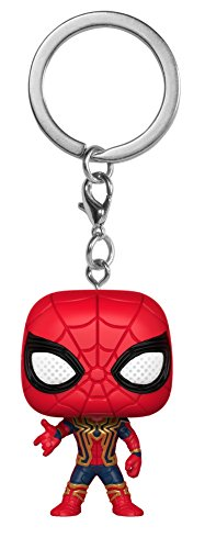 Funko Pop Keychain Marvel: Avengers Infinity War-Iron Spider Collectible Figure, Multicolor