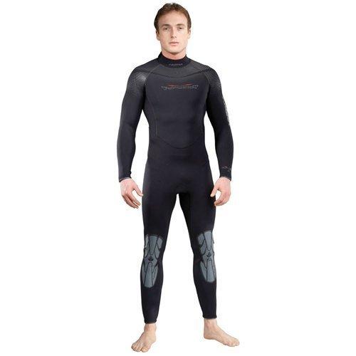 AKONA Men's Quantum Stretch Full Wetsuit, 7mm/Large