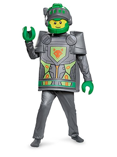 Lego Character Costume (Aaron Deluxe Nexo Knights Lego Costume,)
