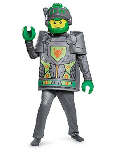 Aaron Deluxe Nexo Knights Lego Costume, Small/4-6]()