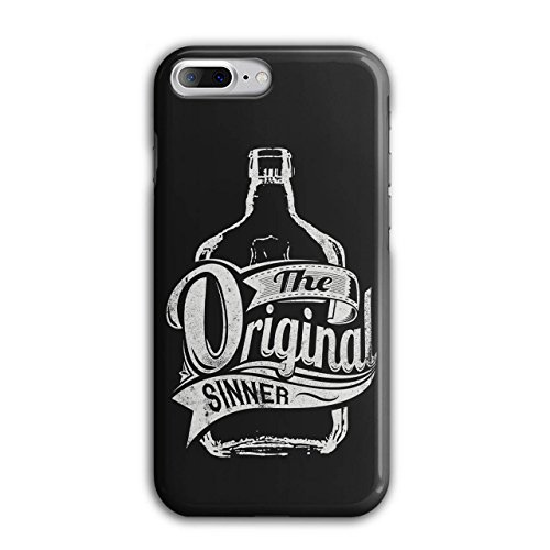 Vodka Bottle Design (Original Sinner Funny Rum Drunk iPhone 7 Plus Case | Wellcoda)