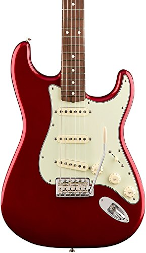 Fender 6 String Solid-Body Electric Guitar, Candy Apple Red (131003309)