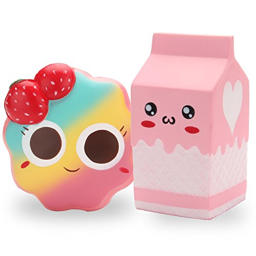 10 best squishies milk and cookies for 2019